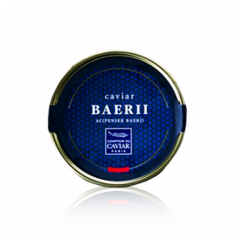 Box of Baerii caviar