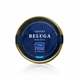Box of Beluga caviar
